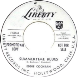 Summertime Blues - Eddie Cohran